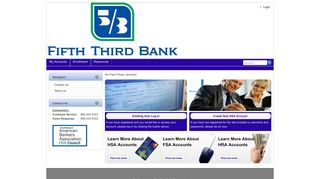 Fifth Third Bank HSA > Home
