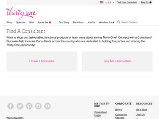 Find A Consultant - Thirty-One Gifts