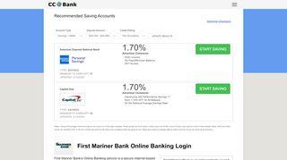 First Mariner Bank Online Banking Login - CC Bank