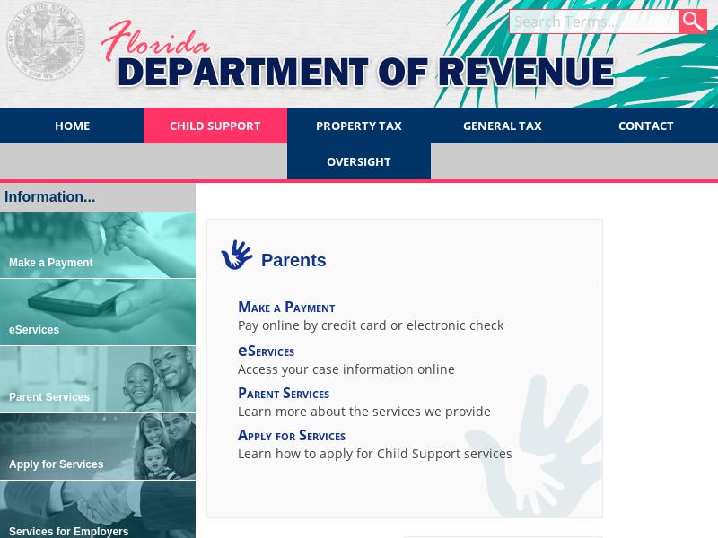 Florida Dept. of Revenue - Child Support Program