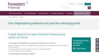For agents   Foresters Financial