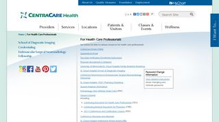 For Health Care Professionals | CentraCare, Central Minnesota