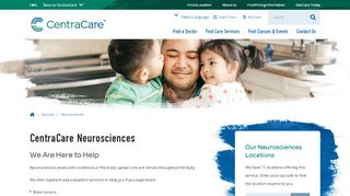For Health Care Professionals - CentraCare Health, Central ...