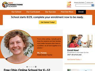 Free K-12 Ohio Online School   Ohio Connections Academy