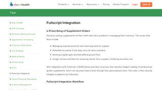 Fullscripts Integration - Electronic Prescribing of Supplement ...