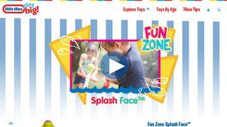 Fun Zone Splash Face | Little Tikes
