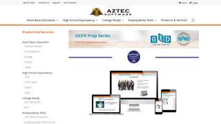 GED | Aztec Software