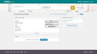 Gentiva Home Health - Florence, AL   Parishes Online