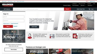 Grainger Industrial Supply - MRO Products, Equipment & Tools