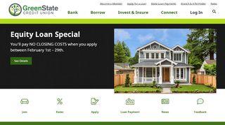 GreenState Credit Union | Checking, Savings, Loans, Credit ...