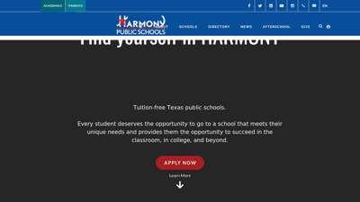Harmony Public Schools - Apply Now