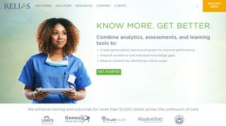 Healthcare Talent and Performance Solutions  Relias