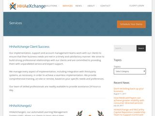 HHA eXchange   Software Solutions for Home Care Agencies