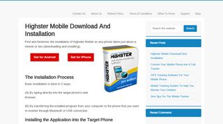 Highster Mobile Download And Installation | HighsterSpyApp