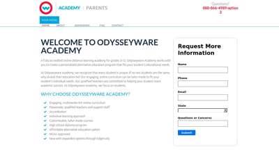 Home  Odysseyware Academy