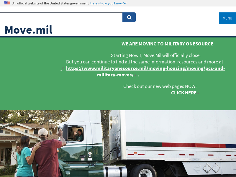 Home Page  Move.mil
