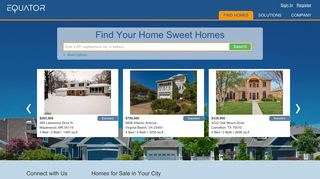 Homes for Sale and Real Estate Home Listings   EQUATOR