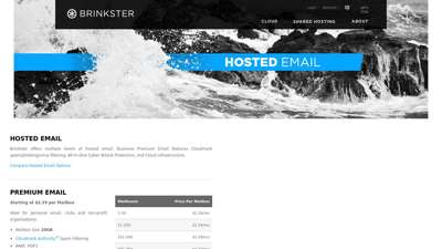 Hosted Email - Brinkster