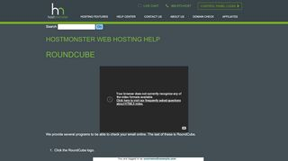 """HostMonster Web Hosting Help - Search results for """"webmail-and ..."""