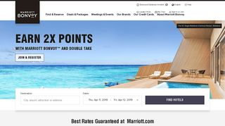 Hotels & Resorts   Book your Hotel directly with Marriott Bonvoy