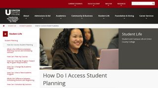 How Do I Access Student Planning – Student Life