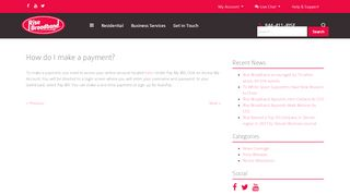 How do I make a payment? - Rise Broadband