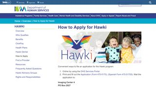 How to Apply for hawk-i   Iowa Department of Human Services