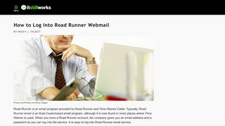 How to Log Into Road Runner Webmail   It Still Works