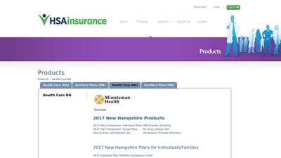HSA Insurance - Minuteman Health New Hampshire