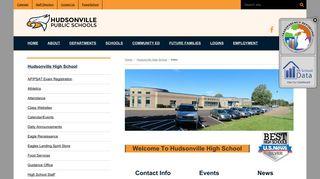 Hudsonville High School - Hudsonville Public Schools