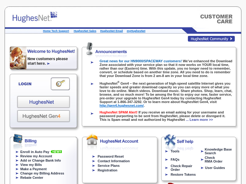 HughesNet Customer Care