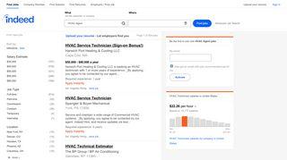 HVAC Agent Jobs, Employment  Indeed.com