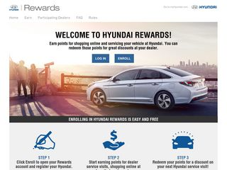 Hyundai Rewards - Earn Points for Service Visits & Shopping