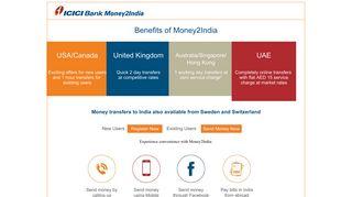 ICICI Bank Money2India