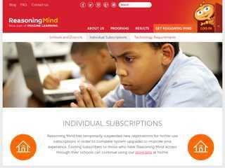 Individual Subscriptions - Reasoning Mind