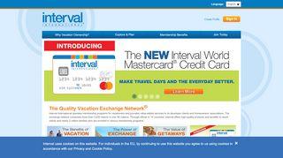 Interval International   Resort, Timeshare, Exchange ...
