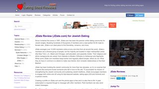 JDate Review - Jewish Dating - Dating Sites Reviews