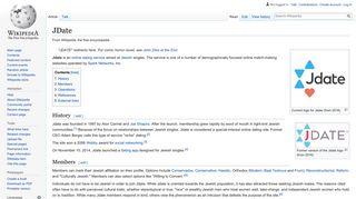 JDate - Wikipedia
