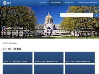 Job Seekers - SCSC - PA.gov