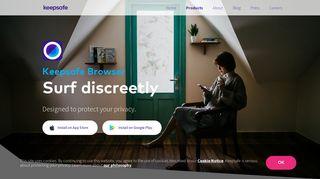 Keepsafe Browser | Private Web Browser Mobile App