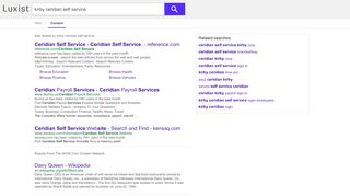 kirby ceridian self service - Luxist - Content Results