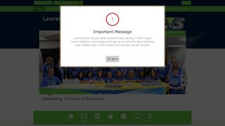 Lawrence Virtual School / Homepage