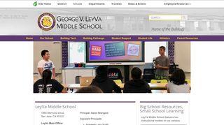 LeyVa Middle School - Home - Evergreen School District