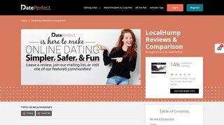 LocalHump Reviews & Comparison - DatePerfect