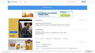 Localhump.com - LocalHump.com | Sign Up For Free - Whois