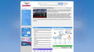 LocalNet Start Page