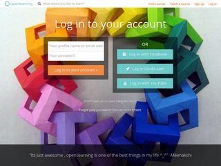 Log in - OpenLearning