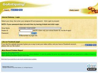 Login to my Dealer account - GoAntiquing!