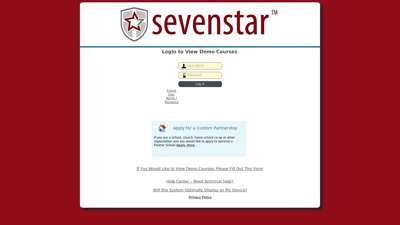 Maestro :: Login - Sevenstar
