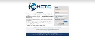 MagicMail Mail Server: Landing Page - HCTC